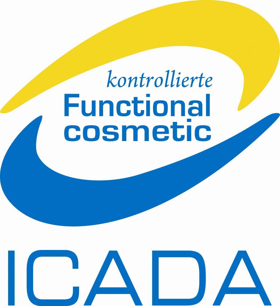 ICADA kontrollierte Functional cosmetic 로고